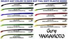 Gary Yamamoto Worm 10 Inch Kut Tail Soft Plastic Bait Any Color 7XL-05 Fish Lure $11.99 USD