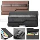 NEW RUGGED NYLON WALLET CASE CARRYING HOLSTER BELT CLIP CELL PHONES POUCH COVER