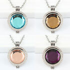Glass Coin/Moneda Disc Pendant/Carrier/Keeper Necklace for Fashion Women Jewelry