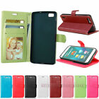Handbag Leather Flip Stand Protect Card Slot Wallet Soft Case Cover For Huawei