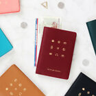 Wannabe Travel Picto Passport Holder Cute Case Cover Ticket Card ID Wallet Pouch