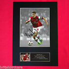AARON RAMSEY football Signed Autograph Mounted Photo REPRODUCTION PRINT A4 403