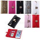 JACCY - For Apple iPhone 6 6s Plus 6+ Bling Wallet Purse Flip Leather Case Cover