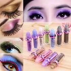 Glitter Single Color Roller Eyeshadow Pigment Loose Powder Eye Shadow Makeup New