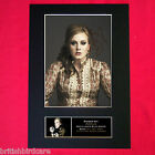 ADELE Signed Autograph Mounted Photo REPRODUCTION PRINT A4 251