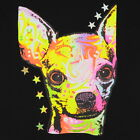 Kids Chihuahua Dog T-Shirt Unisex Children to Adult Cute Youth Boys Neon Puppy