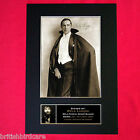 BELA LUGOSI dracula Signed Autograph Mounted Photo REPRODUCTION PRINT A4 311