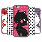 HEAD CASE DESIGNS CATS AND DOTS HARD BACK CASE FOR APPLE iPHONE PHONES