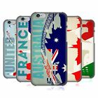 HEAD CASE DESIGNS FLAGS AND LANDMARKS HARD BACK CASE FOR APPLE iPHONE PHONES