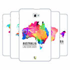 HEAD CASE DESIGNS WATERCOLOURED MAPS HARD BACK CASE FOR SAMSUNG TABLETS 1