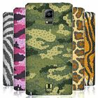 HEAD CASE DESIGNS FLORAL CAMO PRINT BATTERY COVER FOR SAMSUNG PHONES 1