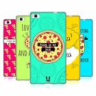 HEAD CASE DESIGNS FOREVER PIZZA SOFT GEL CASE FOR HUAWEI PHONES