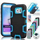 Hybrid Rubber Rugged ShockProof Hard Case Cover For Samsung Galaxy S6 /S6 Edge