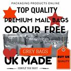 Grey High Quality Plastic Mailing Postal Packaging Poly Bags Self Seal 10 SIZES