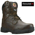 MENS SAFETY STEEL TOE CAP COMBAT MILITARY ARMY WORK ANKLE HIKER BOOTS SHOES SIZE