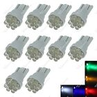 10X T10 152 158 W5W 1 In-Line SMD LED Indicator Light Side Dome Bulbs Auto ZA108