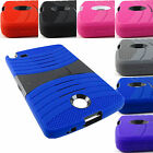 FOR LG G PAD 2 8.0 V498  RUGGED HYBRID ARMOR EXO CASE COVER ACCESSORY+STYLUS