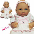 "Molly P Originals 12"" Julie Vinyl and Cloth Baby Doll With Blanket"