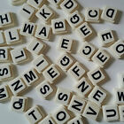 Upwords by Parker Spare Extras spare Letters White Tile Black Writing You choose