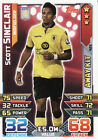 Match Attax 15/16 AFC Bournemouth Arsenal Aston Villa Cards Pick From List