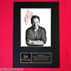 BRUCE SPRINGSTEEN Mounted Signed Photo Reproduction Autograph Print A4 161