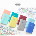 Rainbow Passport Case Cover Ticket Card Holder Travel Mini Wallet Cute Pouch