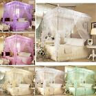 4 Corner Post Bed Canopy Mosquito King Queen Twin Sizes Netting Or Frame(Post)