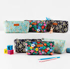 Flowery Soft Pencil Pouch Pencase Makeup Cosmetic Storage Organizer Bag Case Box