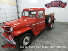 Willys%3A+Pickup+Runs+Drives+Body+Inter+Excel+4wd+Full+Resto