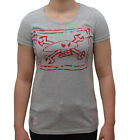 Guy Martin Red Torpedo Chalkskull Ladies T Shirt