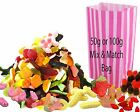 Pick n Mix Retro British Traditional Tuck Shop Sweets 100gr Bags or Mix & Match