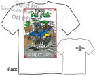 Orbitron Rat Fink T shirt, Big Daddy T, Ed Roth Hot Rod Tee, Sz M L XL 2XL 3XL