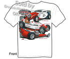 Hot Rod T Shirt 33 34 Ford Speed & Glory Racing Dragster Tee, Sz M L XL 2XL 3XL