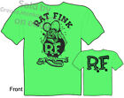 Green Ratfink T Shirts Big Daddy T Shirt Hot Rod Clothing Ed Roth Apparel Tee