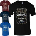 Made in 1996 T-Shirt Born 21st Year Birthday Age Present Vintage Funny Mens Gift