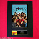 GLEE Signed Autograph Mounted Photo RE-PRINT A4 118