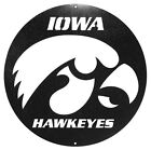 IOWA HAWKEYES Steel Scenic Art Wall Design