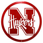 NEBRASKA CORNHUSKERS Steel Scenic Art Wall Design