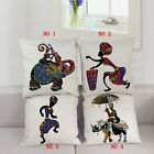 Cotton Linen Bohemian Style Retro Tribal Pattern Pillowcase Sofa Cushion Cover