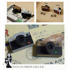 Camera Set Vintage Retro Style Rubber Stamp Stamper Scrapbooking Seal DIY