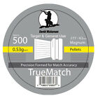 NICKERSON TRUE MATCH FLAT HEAD AIR RIFLE PISTOL PELLETS .177 HUNTING SHOOTING