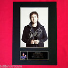 JOSH GROBAN Mounted Signed Photo Reproduction Autograph Print A4 322