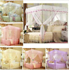 Lace Flower Bed Canopy Mosquito King Queen Twin Sizes Netting Or Frame(Post)