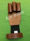 TRADITIONAL BURNISH ARCHERY SHOOTING LEATHER GLOVE 100% BURNISH LEATHER GLOVES