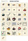 SEWING KNITTING. CARD jef files janome 300e machine embroidery designs