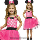 CK625 Missy Miss Minnie Mouse Costume Girls Fancy Dress Kids Disney Book Week