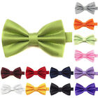 Men Boys Kids Childrens Adjustable Pre Tied Satin Wedding Party Bow Ties Bowties