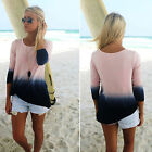 CHIC Fashion Women' Summer Casual Long Seeve Loose T shirt Tees Tops Blouse