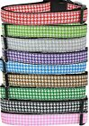 Houndstooth Nylon Dog Collar Pet Puppy Adjustable D-Ring Matching Leash