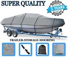 GREY+BOAT+COVER+FOR+KENNER+V%2DHULL+16+O%2FB+1999